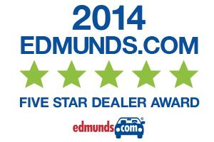Edmunds Five Star Dealer