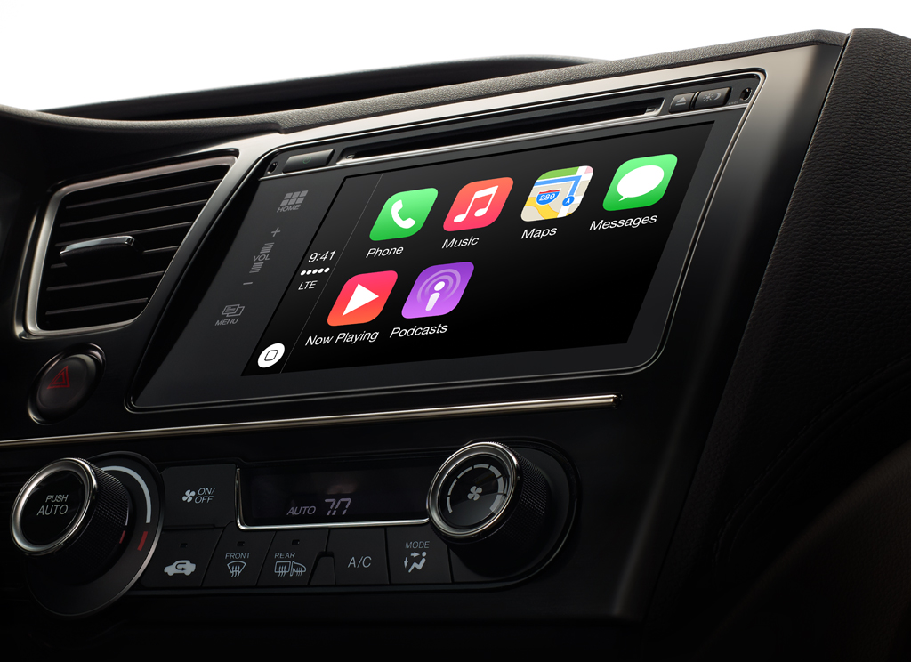 which bmw models support apple carplay