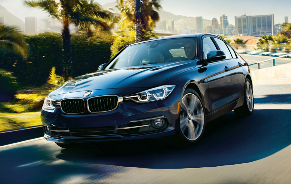 For 2017, The BMW 3 Series Looks As Fresh As Ever With The Famous Kidney  Grille Up Front Along With Signature BMW Halo Headlights And Halogen  Free Form ...