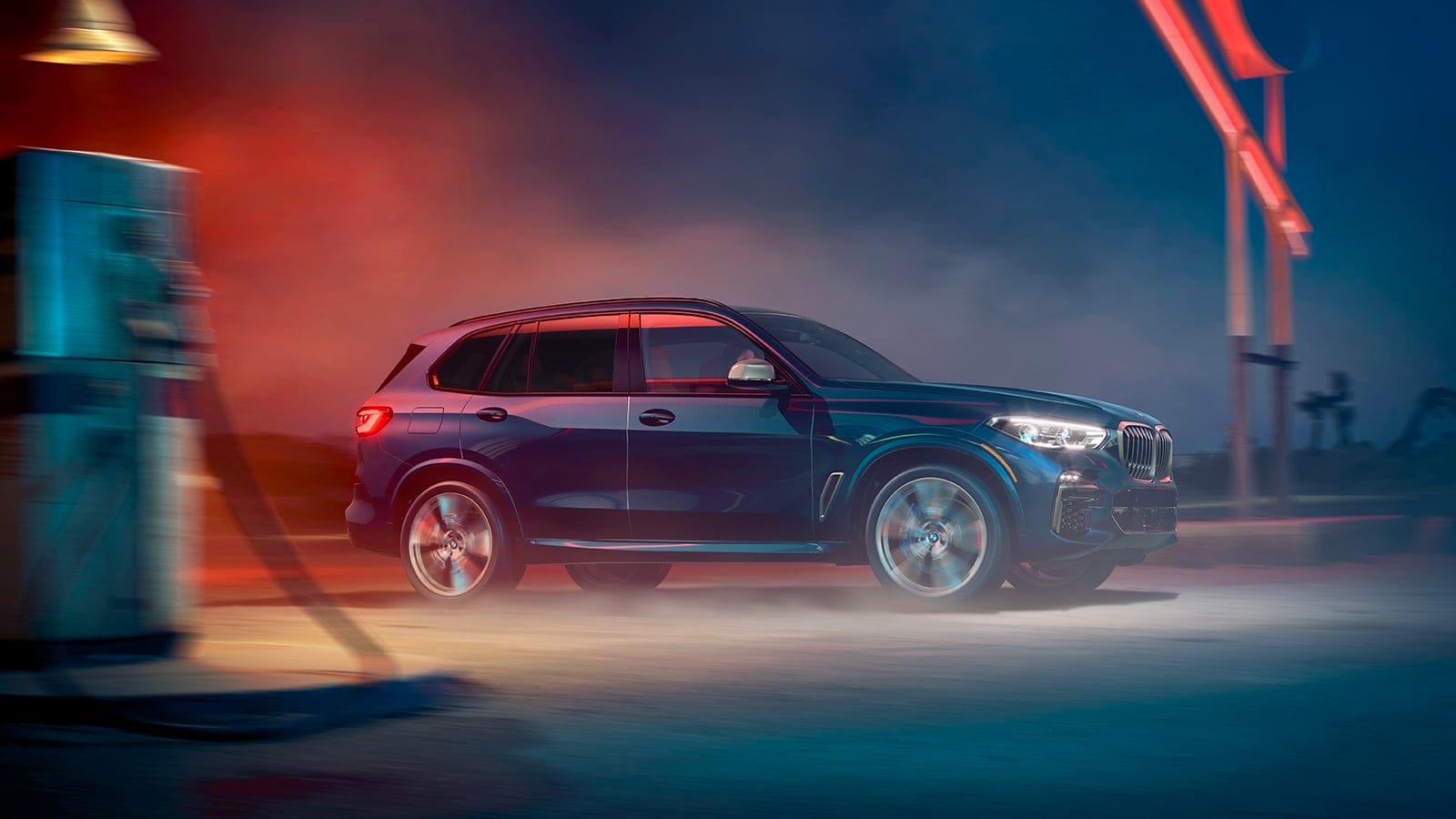 BMW towing